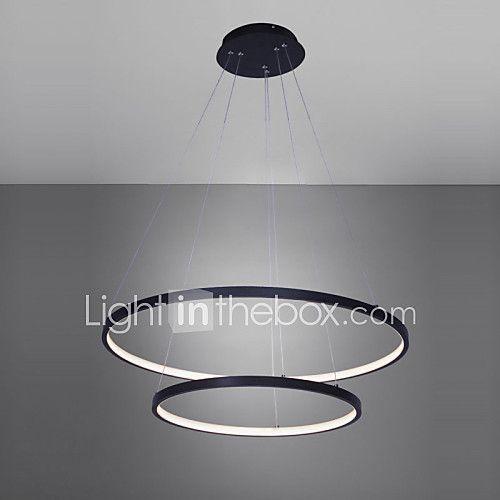 Ecolight™ 2 lumi¨res Circulaire Lampe suspendue Lumi¨re d ambiance