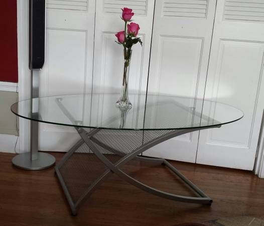 Glass Coffee Tables Under 100: Glass Coffee Table - Craigslist $100