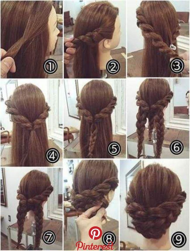 23 Ideas Hair Tutorial Updo Wedding For 2019 Hair Updos Tutorials Renaissance Hairstyles Hair Tutorial