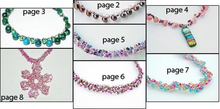 7 Free Wire and Bead Crochet Necklace Patterns for Fun DIY Projects ...