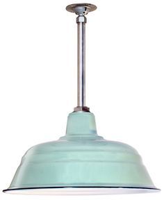 Kitchen Pendant Lights {Barn Light Electric} — Life Rearranged, #barn light electric, such a great color for a retro bathroom.