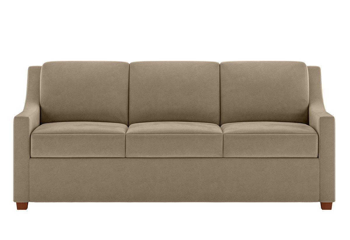 Perry Tempur Pedic Mattress Sleeper Sofa American Leather
