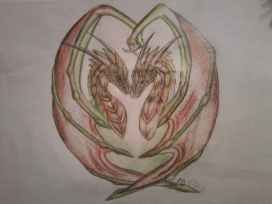 dragons in love | dragons in love by *cynder-dragon-spyro on deviantART