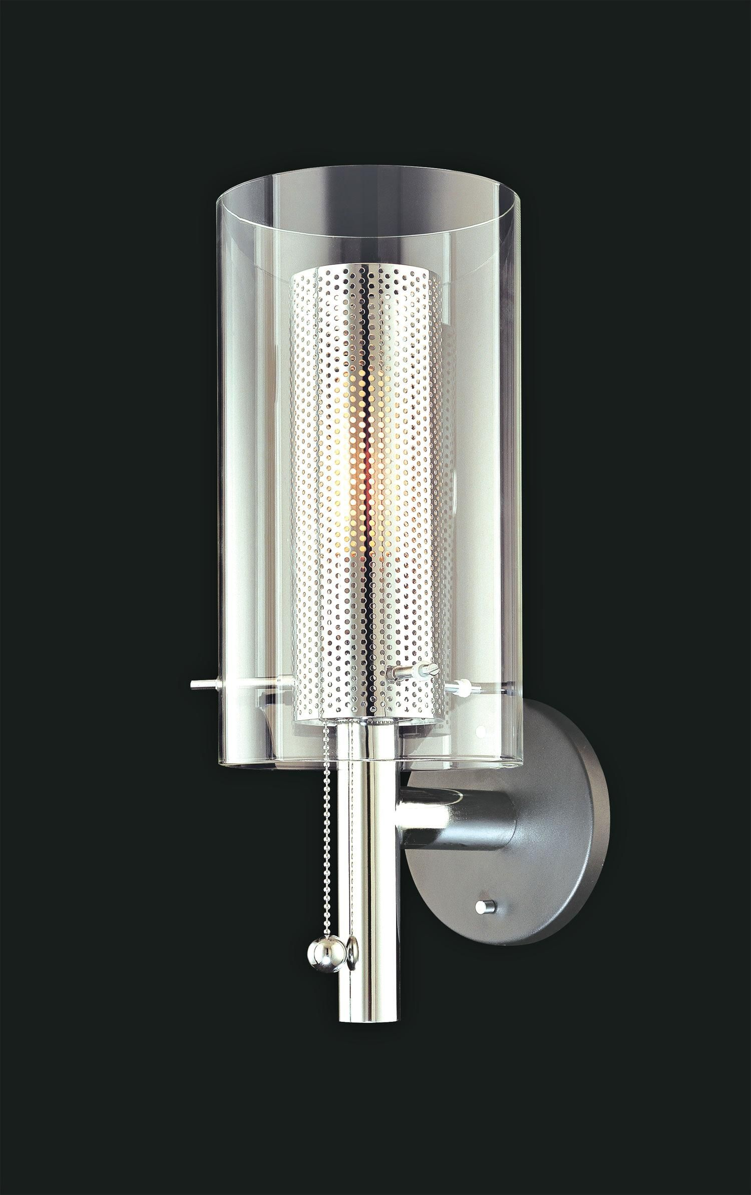 Sonneman Cylinder Hi/Low Wall Sconce | LampsPlus.com