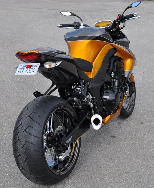 Kawasaki Ninja Z1000 240 Wide Tire Swingarm Conversion Kit Super Bikes Cafe Racer Cafe Racer Build