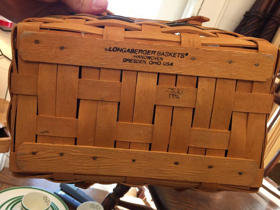 Longaberger Baskets Handwoven Dresden Ohio USA | Jarred's ...