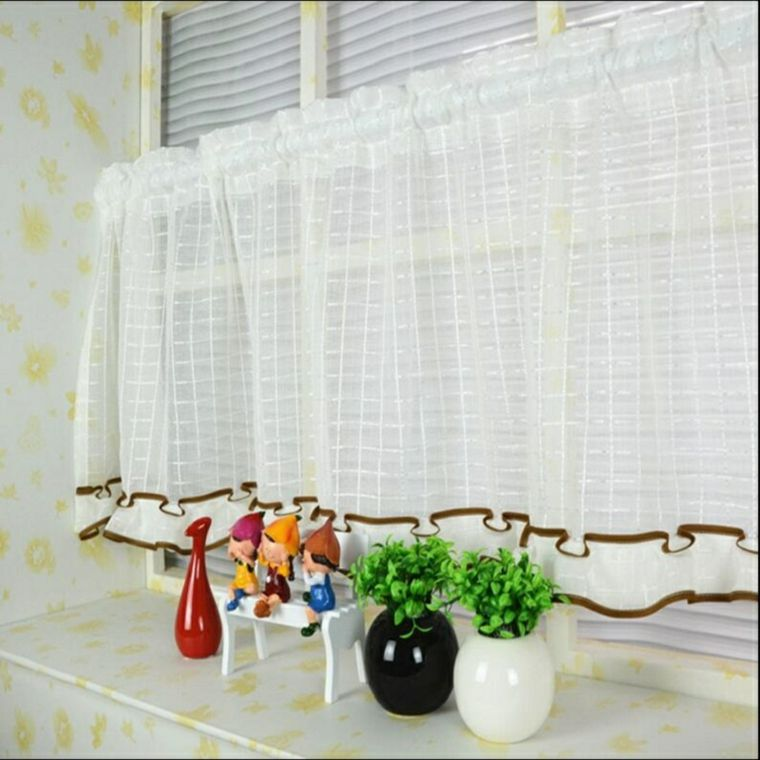 originales diseos telas cortinas Decoracin Pinterest