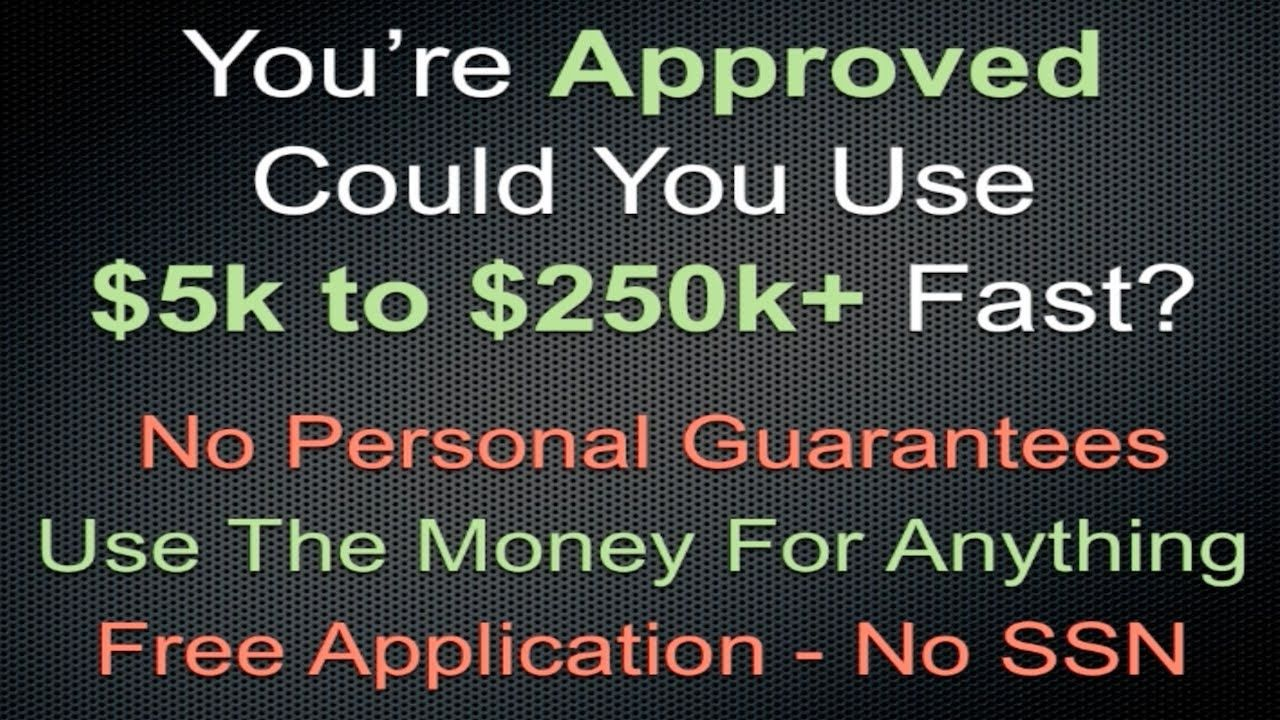 News Videos & more Small Business Loans No Personal