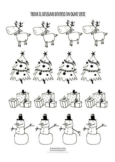 Giochi Natale.Giochi Di Natale Free Printable Per Riempire Il Calendario Dell Avvento E Non Solo Giochi Di Natale Natale Idee Di Natale