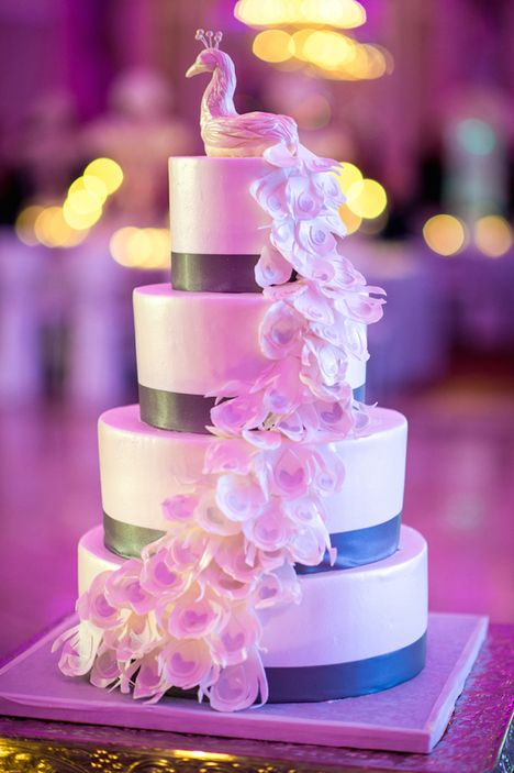 Divine Real Wedding Cake