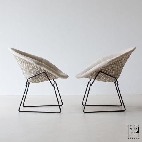 Diamond Chair Von Harry Bertoia   ZEITLOS U2013 BERLIN