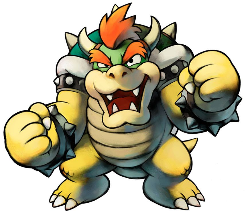 Bowser | Mario & Luigi: Partners in Time | Art References ...
