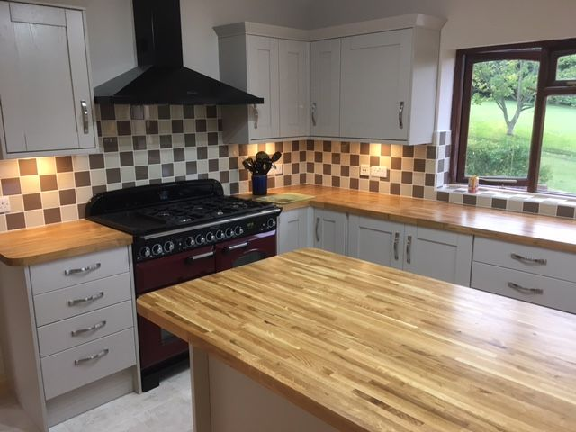 This kitchen is from our Tewkesbury Cashmere range and was designed ...