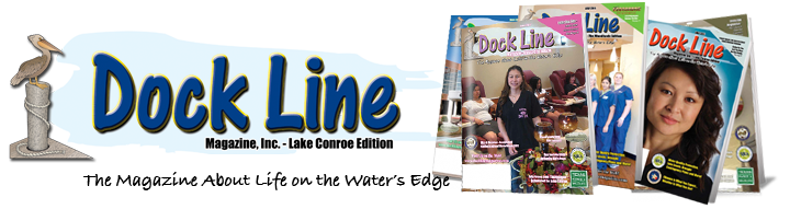 """Go Colors is advertized in the Texas magazine """"Dock Line"""""""