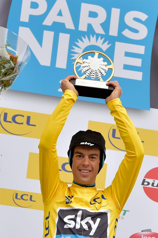 Richie Porte wins Paris-Nice 2015. Photo: Graham Watson