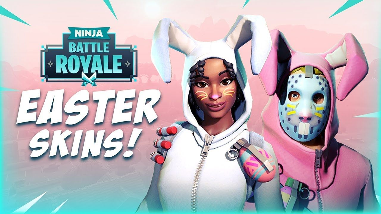New Easter Skins Fortnite Battle Royale Gameplay Ninja Fortnite Battle Royale Fortnite Ninja Battle Battle