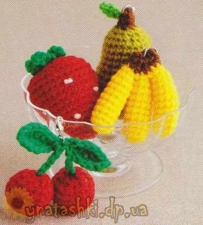 Portachiavi maglia frutta