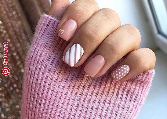 Netipichnyj Manikyur Nail Design In 2019 Pinterest Nail Designs Girls Nails And Perfect Nails Netipichnyj Manikyur N Pink Nails Classy Nails Dream Nails