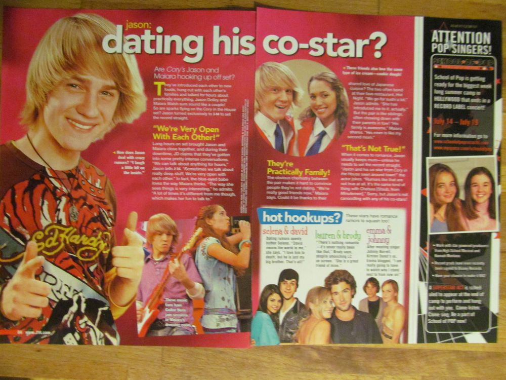 Jason Dolley, Two Page Pinup Clipping