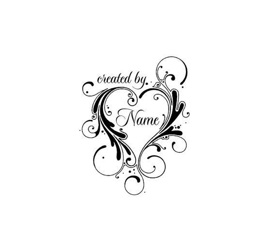 UNMOUNTED PERSONALIZED HANDMADE CUSTOM  RUBBER STAMPS H66