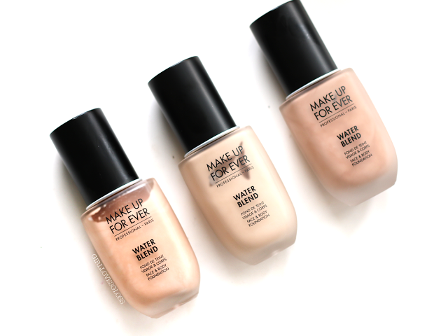 The Revamp Make Up For Ever Water Blend Foundation vs