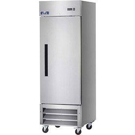 Arctic Air Ar23 Reach In Refrigerator 1 Door White 23 Cu Ft 26 3 4 W X 32 3 4 D X 82 3 4 H Arctic Air Commercial Freezer Solid Doors