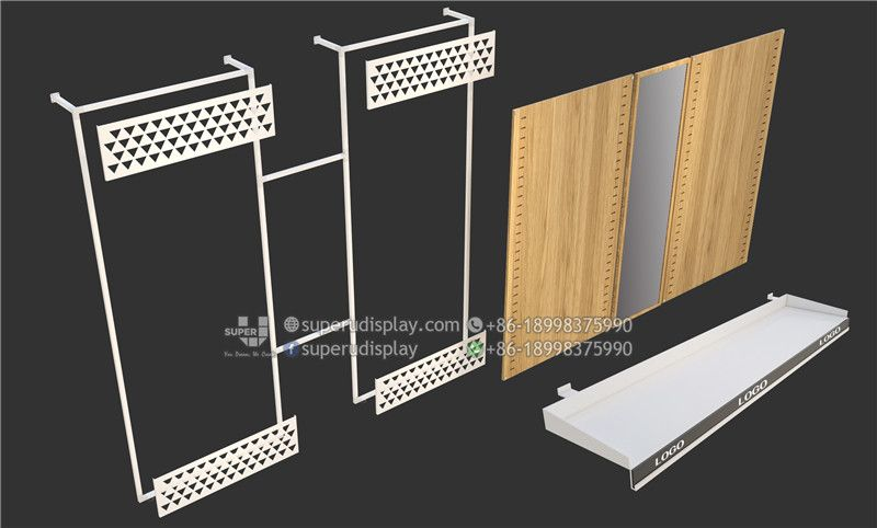 7103fdf386 Custom Modular Retail Wall Display Systems for Optical Store for Retail Shop,  Store Display Design