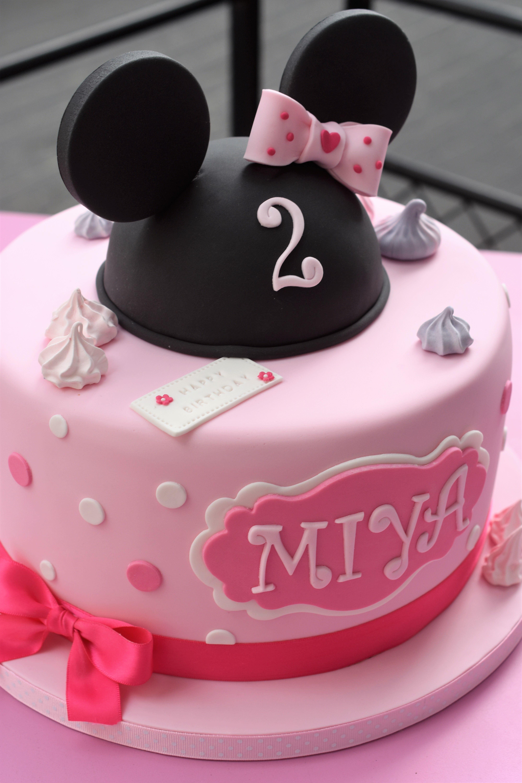 Wondrous Minnie Birthday Cake Cake Girl Cakes Minnie Mouse Cake Personalised Birthday Cards Paralily Jamesorg