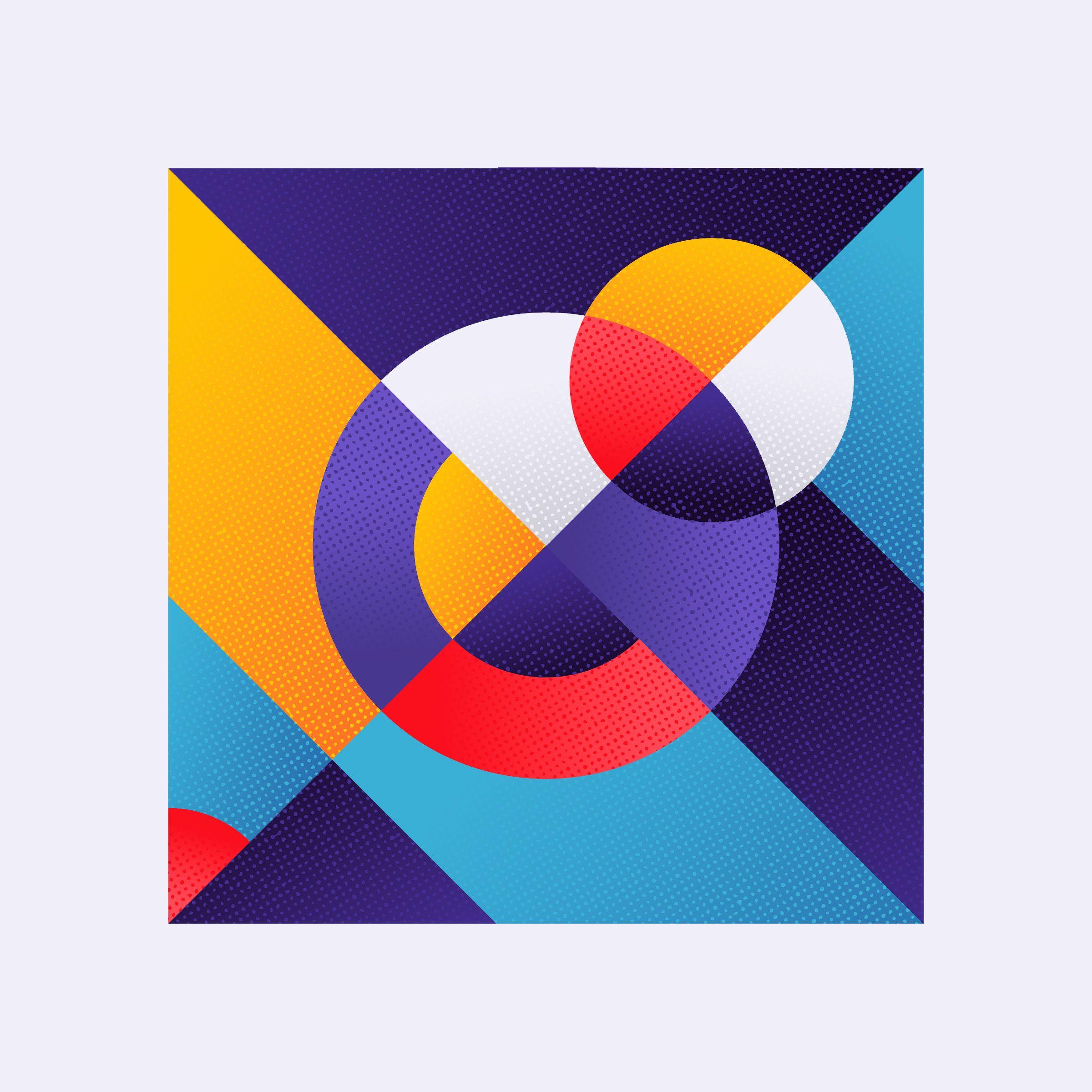 Kleurstaal On Behance In 2019 Geometric Shapes Art