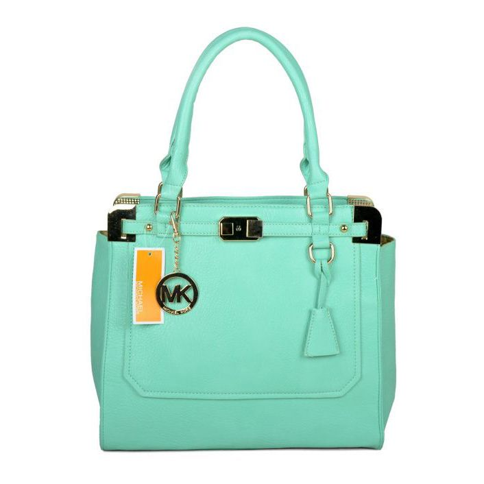 14776836c461 Michael Kors Outlet Pebbled Leather Large Green Satchels, -save up 90% off michael  kors store online !!