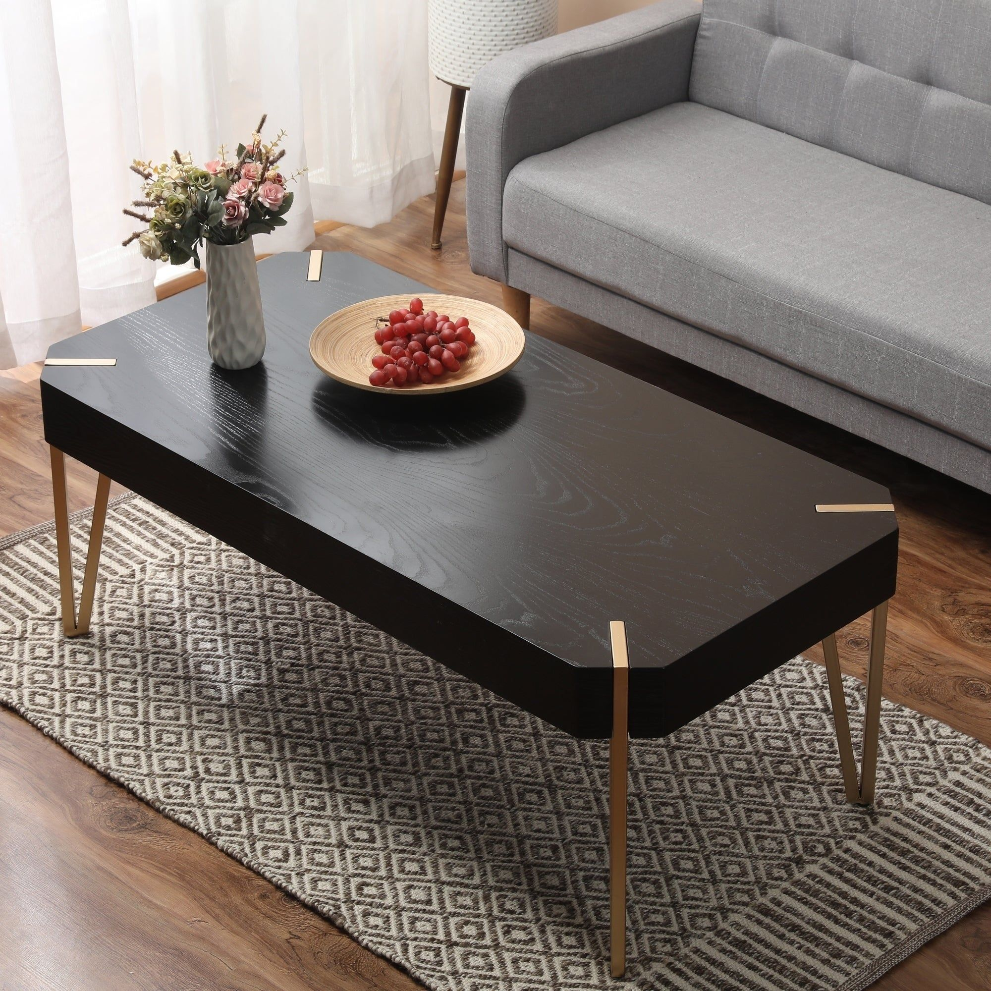Carson Carrington Tammsberg Wood And Metal Coffee Table Mdf [ 2000 x 2000 Pixel ]