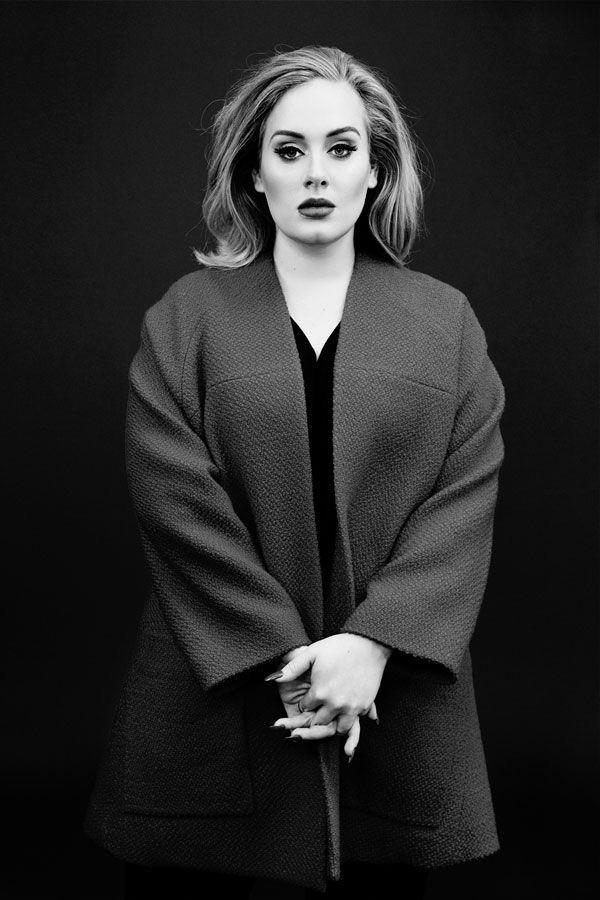 Pin by Ulla T. on p o r t r a i t —   Adele, Fashion