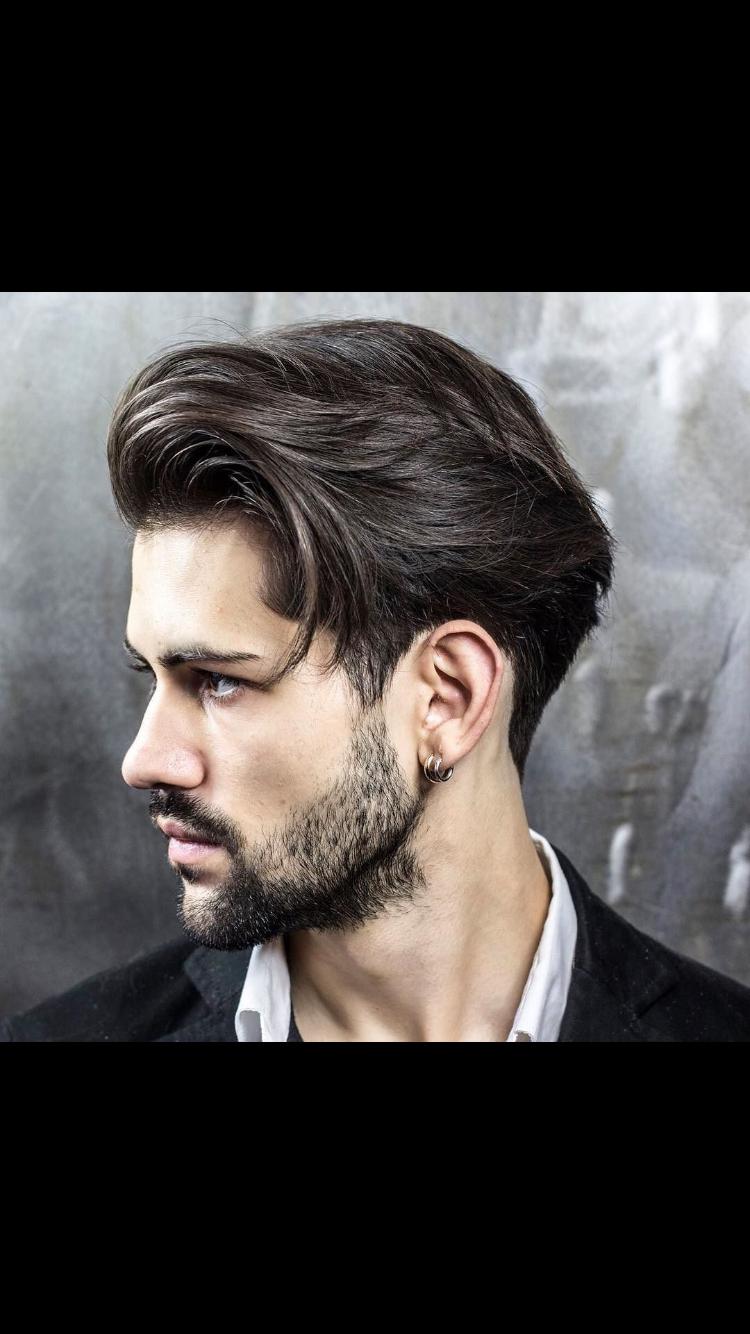 Corte de pelo hombre medio largo