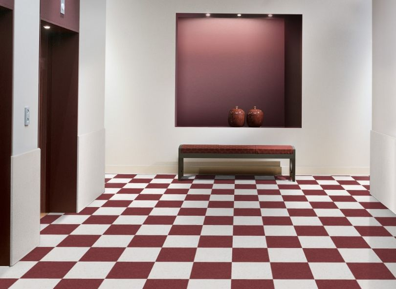 Armstrong Pomegranate Red 51814 Standard Excelon Imperial Texture Vct Floor Tile 12 X 12 45 Sqft Box Lvt Tile Vinyl Tile Flooring Luxury Vinyl Tile