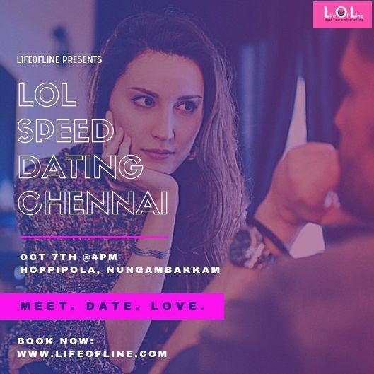 speed dating chennai Skal jeg tilmelde mig en dating site