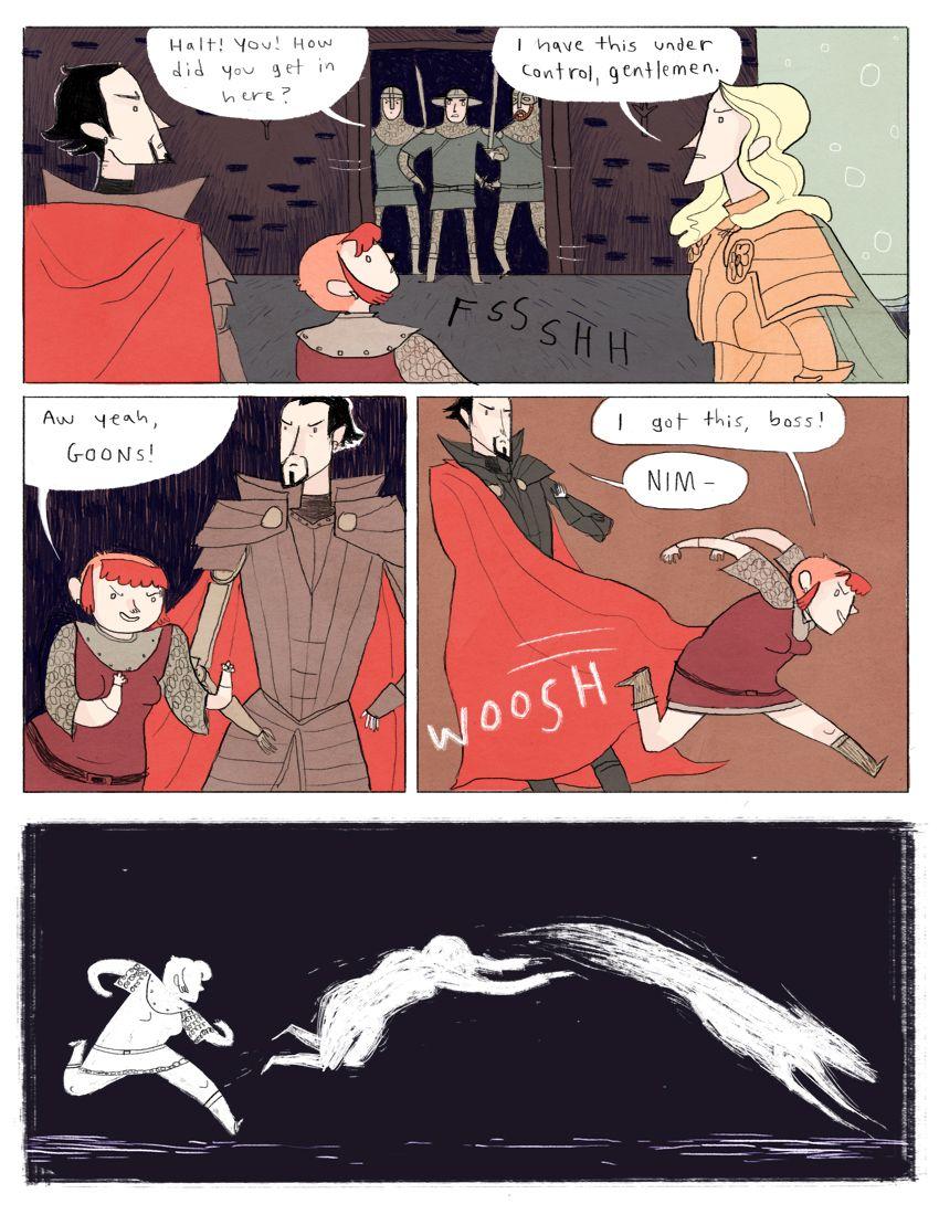 Nimona chapter 3 - page 3 | Gingerhaze
