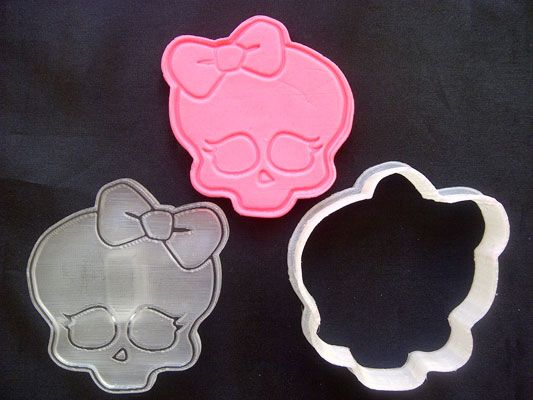Monster High cookie cutter