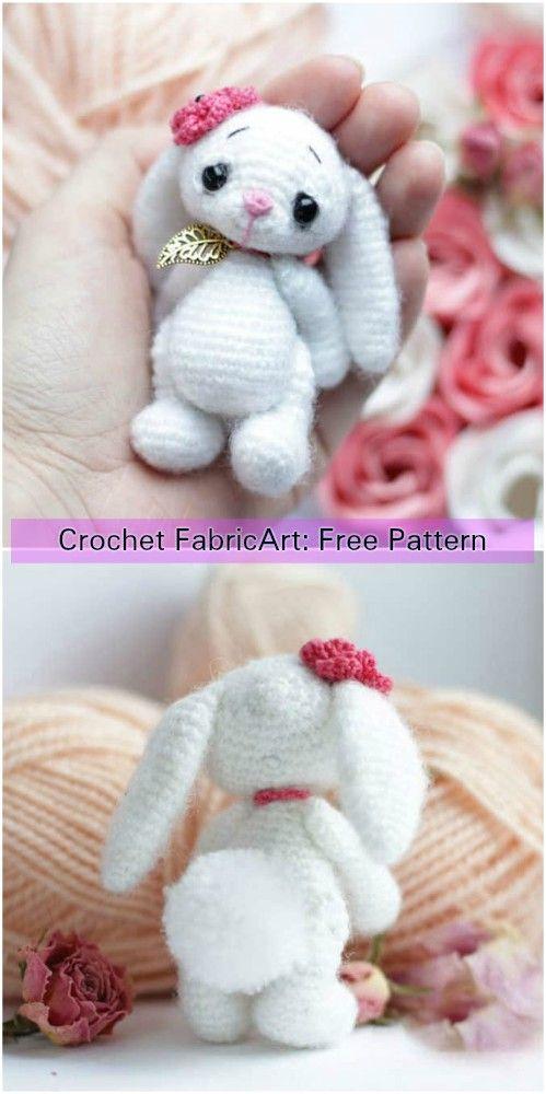 Crochet Little Bunny Amigurumi Free Pattern | Crochet | Pinterest ...