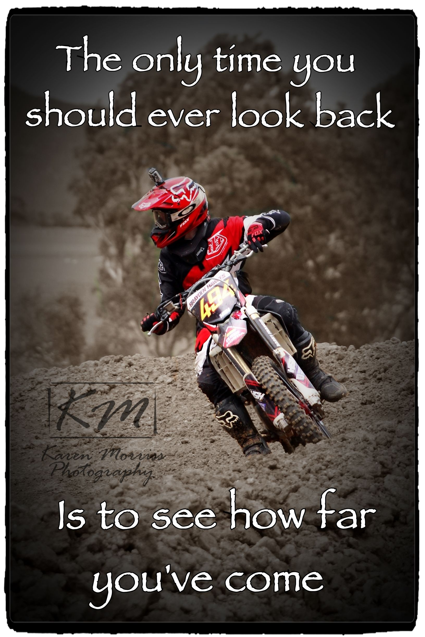 Brayden Motocross Quote (With images) Dirt bike quotes