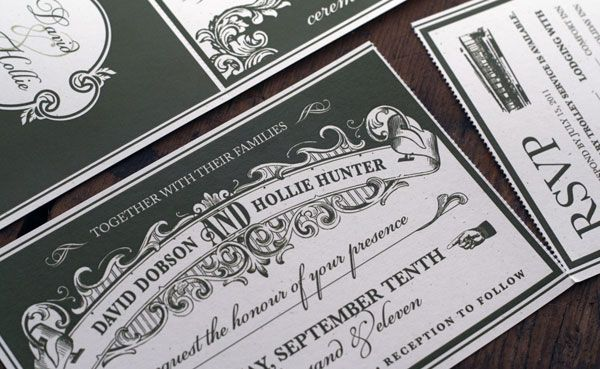 17 Best images about Invitations – Black and White Vintage Wedding Invitations