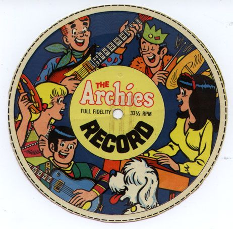 The Archies cereal box record