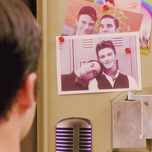 Blaine's locker