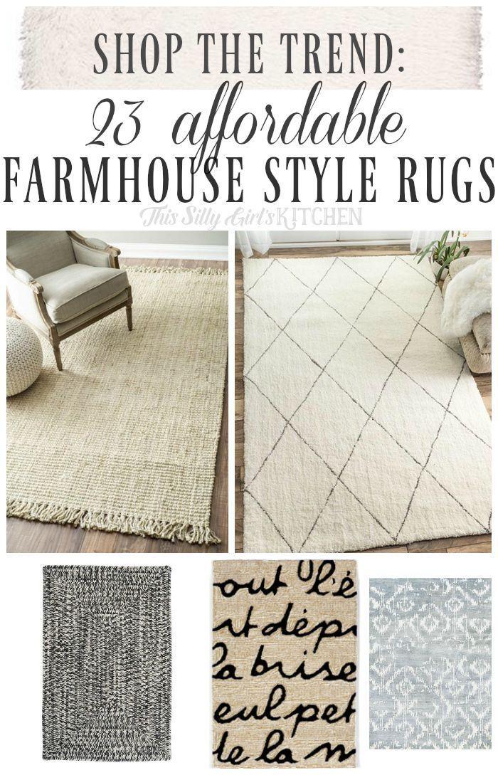 Farmhouse Style Rugs, Farmhouse Style Kitchen Area Rugs
