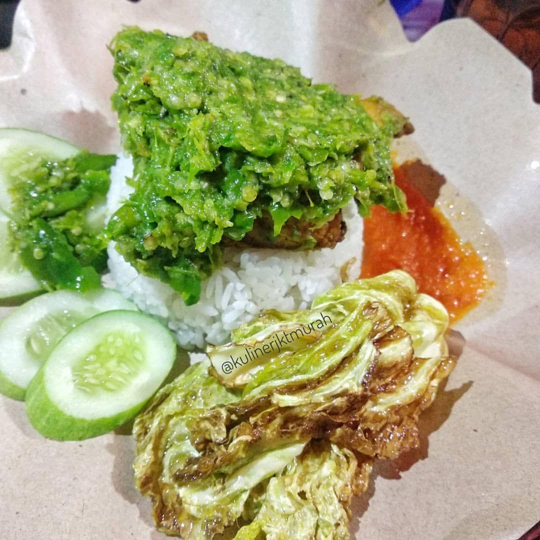 Kuliner Bogor Ayam Penyet Sambel Ijo Kang Ucup Jl Kapten