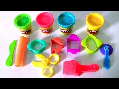 Play-Doh Starter Set Review by Disney Kids Toys Channel Funtoyscollector - YouTube
