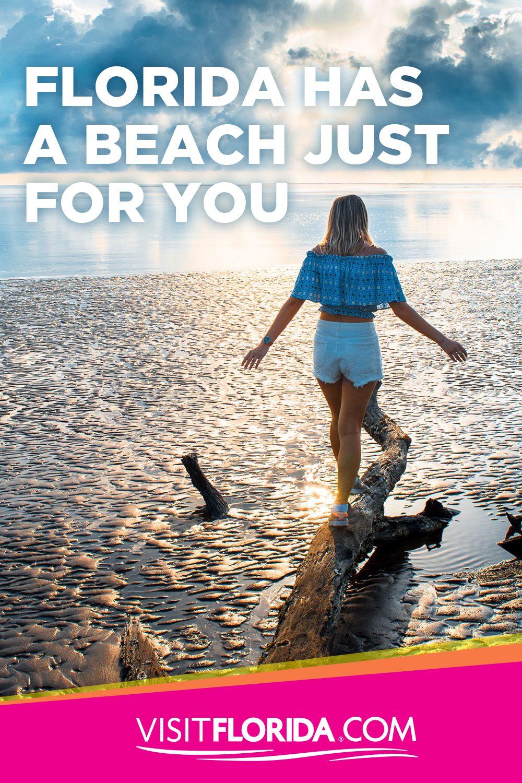 Florida Has A Beach Just For You Visit Florida Florida Attractions Florida Beaches Florida Travel