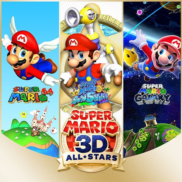 Super Mario 3d All Stars A Dream Come True Do It Yourself Daddy In 2020 Super Mario 3d Super Mario Mario