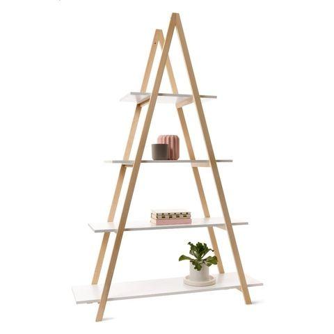 A Frame Bookshelf With Images A Frame Bookshelf Interiors Addict Frame Shelf