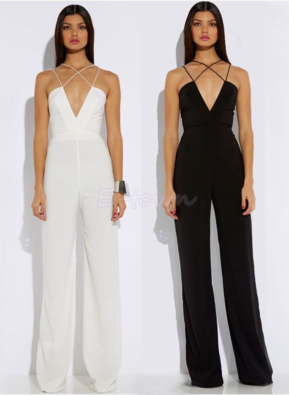 0577a5488a1 macacões femininos longos - Pesquisa Google White Jumpsuit