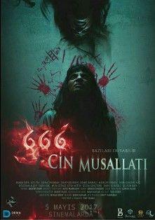 666 Cin Musallati 2017 Yerli Film Izle Horror Movie Posters Korku Filmleri Korku